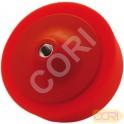 Eponge rouge ultra-douce avec mousse réticulée 150x50 mm